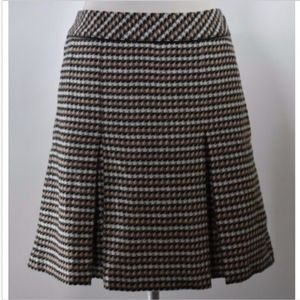 Talbots women's skirt petites 12P a line pleats
